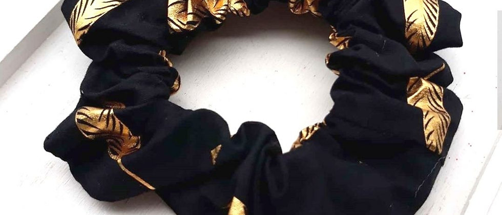 Sienna's Scrunchies - Gold Leaf