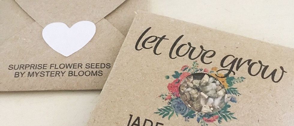 Personalised Favour Grow Kit