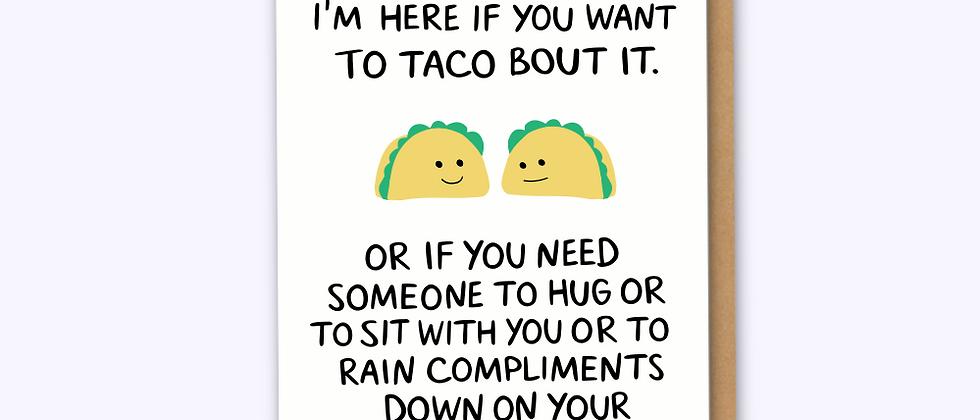 Taco Card