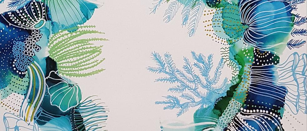 Coral Coast art print
