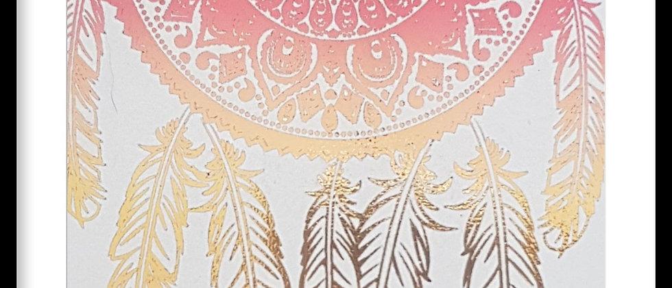 Dreamcatcher Foil Print
