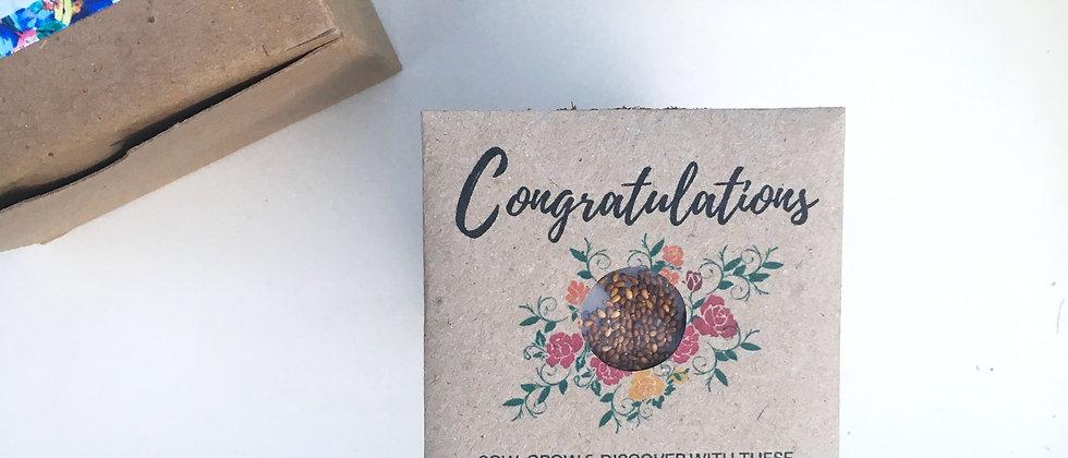 Congratulations Grow Kit