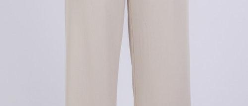 Wide Leg Pants- Beige