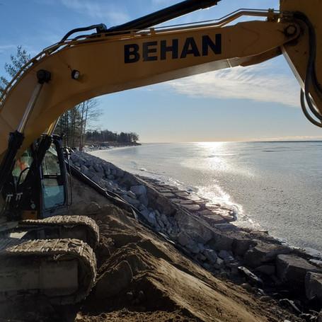 Cedar Shores Lake Ontario Shoreline Restoration