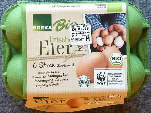 Bio-Eier, 6 Stück