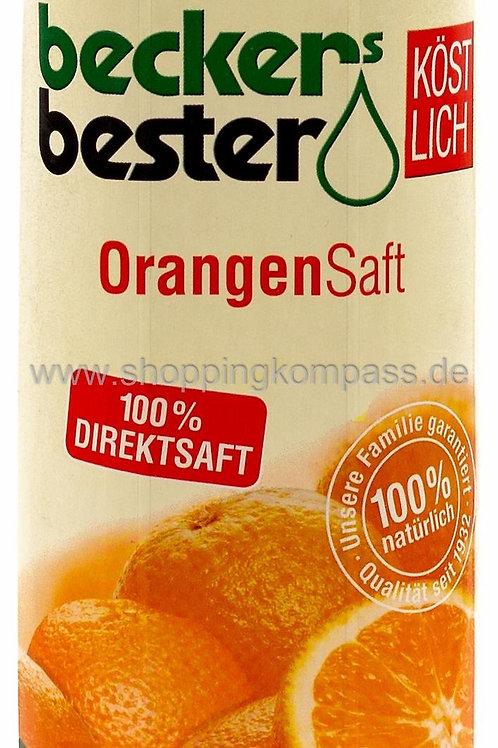 Orangen-Direktsaft, 1l