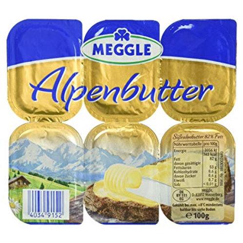 Alpenbutter, 100g,6 Einzelportionen