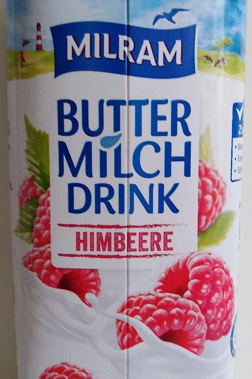 Buttermilch mit Himbeeren, 750g