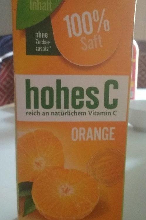 Orangensaft, Hohes C, 1l