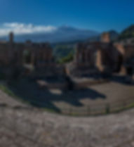 Teatro Greco,Taormina, Sicily, Sicilia, Italy, Italia, photography excursion location