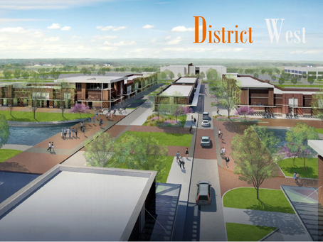 District West Latest Renderings & Site Plan