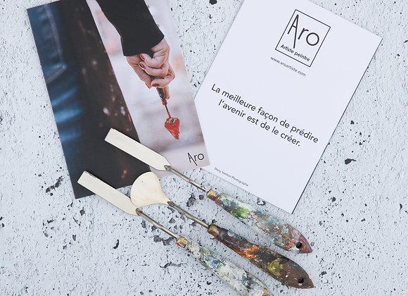 Carte de souhait par Aro, artiste peintre
