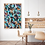 Œuvre originale abstraite Juste un souffle 36x48 Aro Artiste Peintre