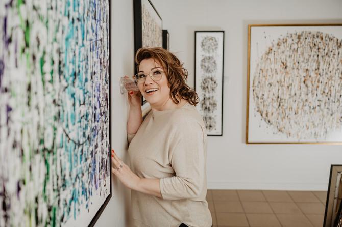 Comment l'art abstrait peut-il parler?