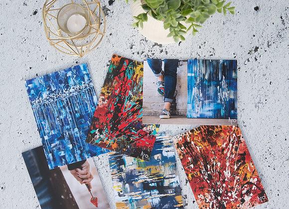 Cartes de souhaits par Aro, artiste peintre