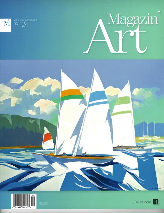 Aro présentée dans le prestigieux Magazin'Art Canadien!