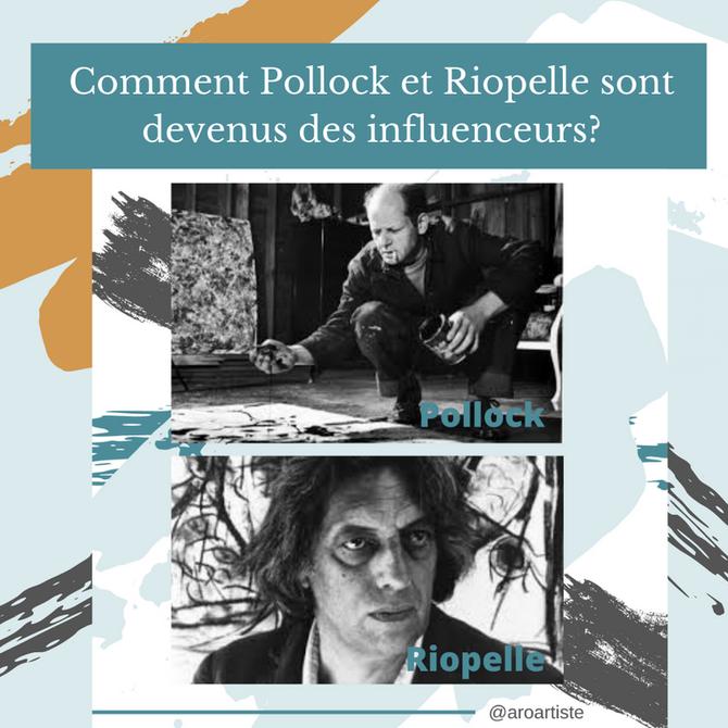 Saviez-vous que Riopelle et Pollock étaient des influenceurs?