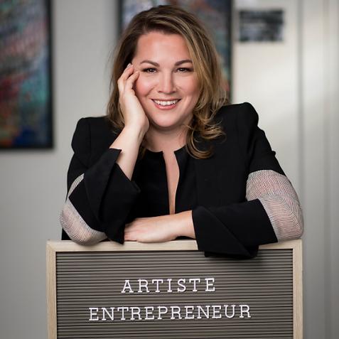 Artiste Entrepreneur Caroline Bergeron