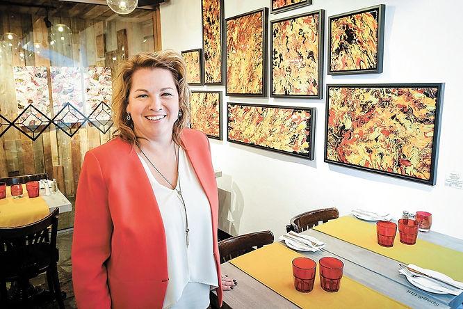 Caroline Bergeron artiste peintre - Aro Artiste Quebec