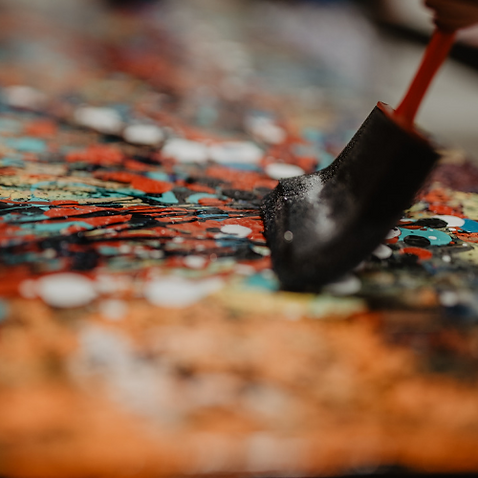 Art contemprain aro Artiste Peintre