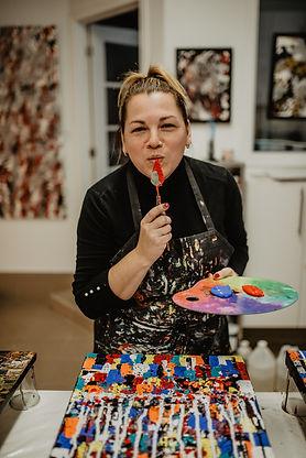 Aro Artiste Art Abstrait infolettre