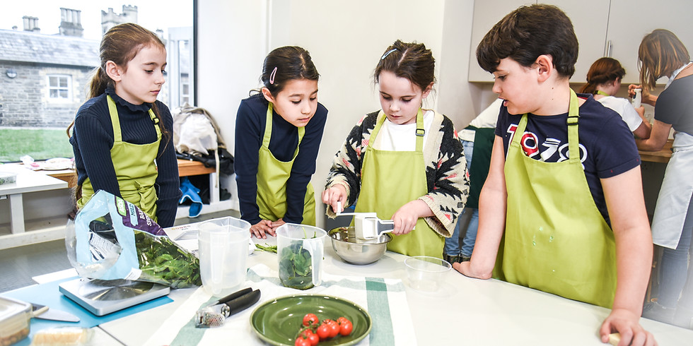 September Cooking Club Age 9-11 (Sunday)