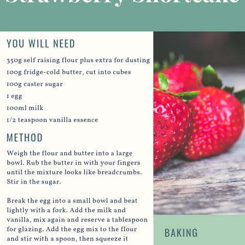 Picnic Perfect Strawberry Shortcakes