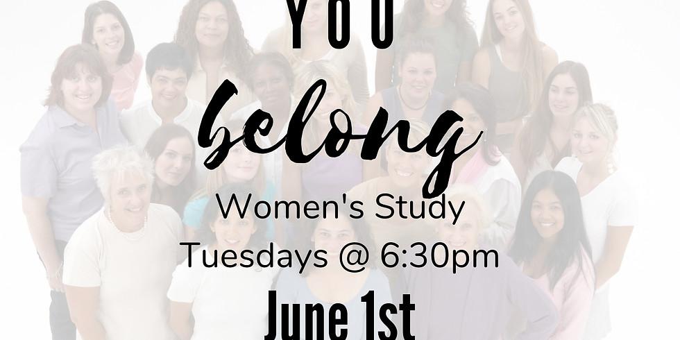 """Women's """"You Belong"""" Bible Study"""