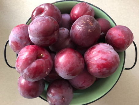 The Good Life: Plum hot and bothered