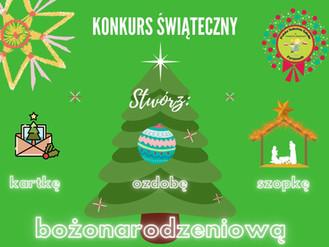 Uwaga Konkurs Świąteczny!