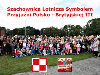 Szachownica Lotnicza Symbolem Przyjaźni Polsko-Brytyjskiej