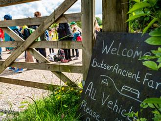 Wycieczka do Butser Ancient Farm