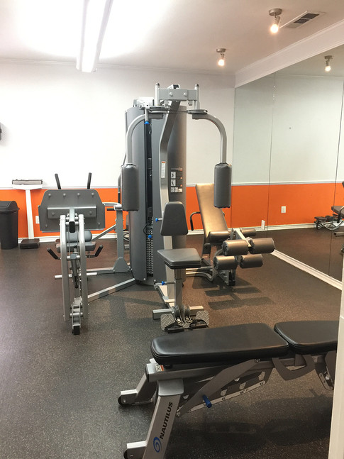 Treadmills, weights and more!