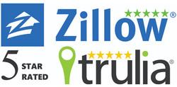 5 Stars - Zillow/Trulia