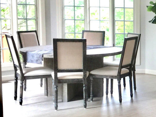 Linen color kitchen/dining chairs