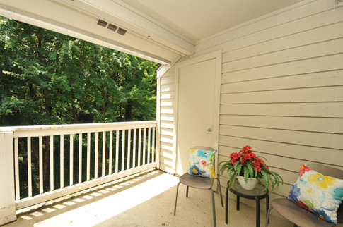 Private, Wooded-View Balcony!