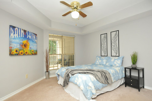 Large Bedroom with Balcony Access!