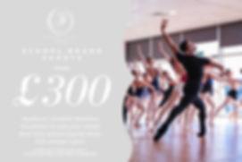 2020 School Branding Session Price Flyer