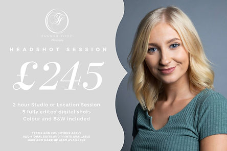 2020 Individual Headshot Session Price F