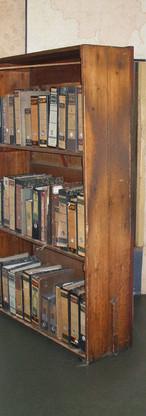 bibliothèque dissumulé