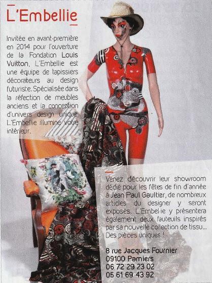 Parution ELLE - Jean Paul Gaultier