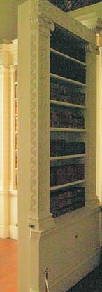 bibliothèque dissimulé