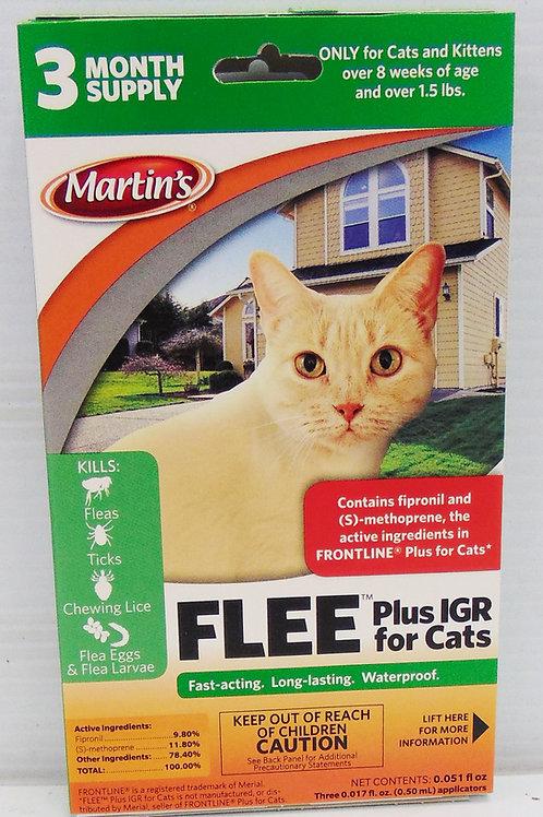 Martin's FLEE Cats