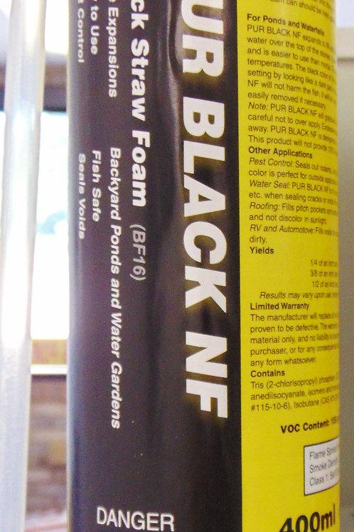 PUR Black Foam