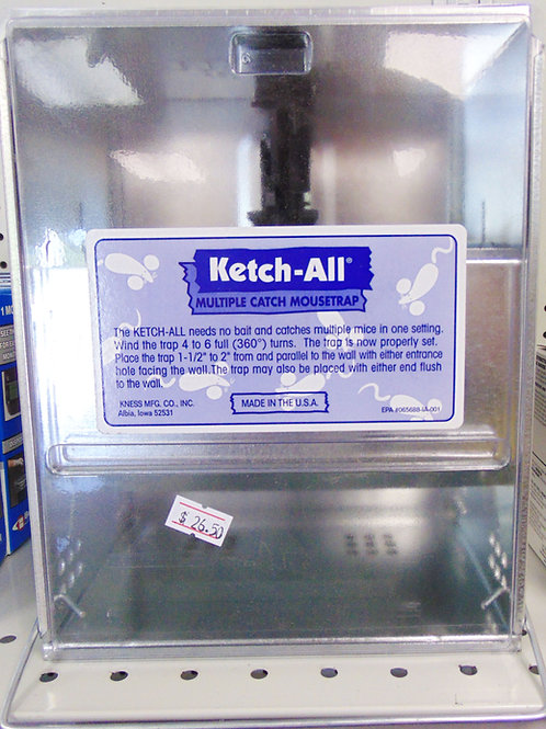 Ketchall Mouse Trap