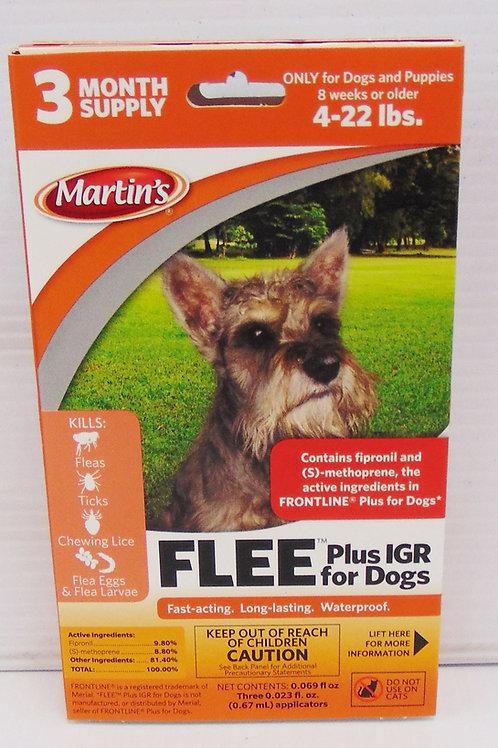 Martin's FLEE Dogs