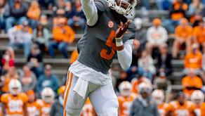 Hooker looks efficient as Tennessee throttles Tennessee Tech