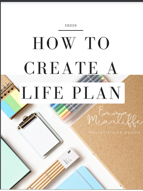 Ebook - How to create a Life Plan