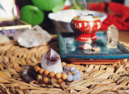 Purification des bijoux en pierres naturelles