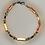 Thumbnail: Bracelet hématite argent, doré rose, doré